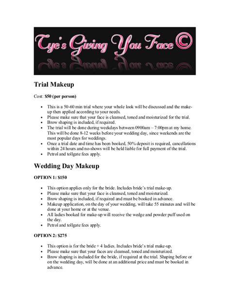 Wedding Hair And Makeup Trial Cost by Bridal Trial Makeup Cost Saubhaya Makeup