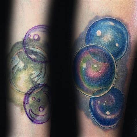 bubble tattoo designs 30 tattoos for circular design ideas