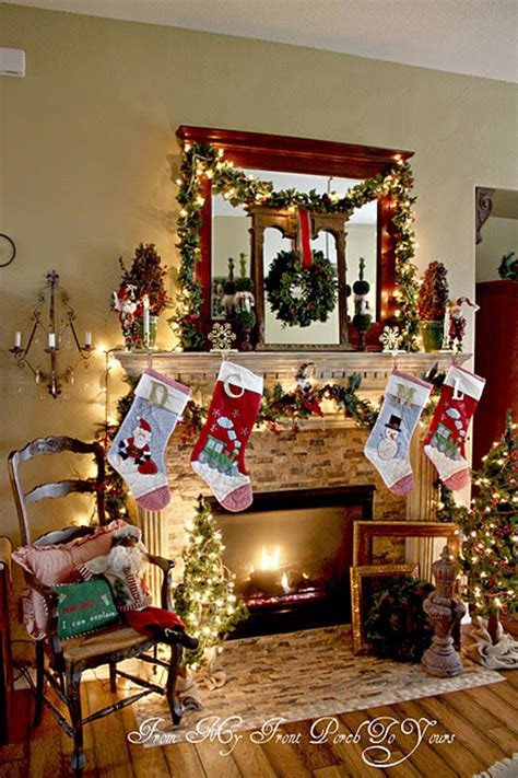 Decorate Your Mantel For Christmas - 10 ways to decorate a mantel for christmas