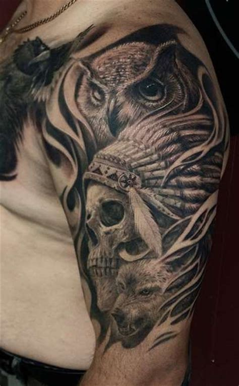 oriental owl tattoo 1000 ideas about owl skull tattoos on pinterest skull