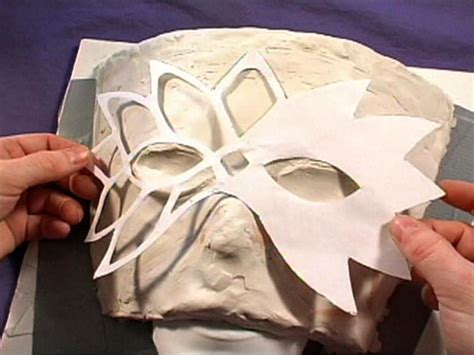 How To Make A Mask Using Paper - paper mask patterns patterns 2016