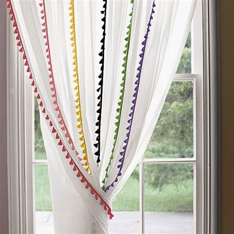kinderzimmer hange deko gardinen selber n 228 hen 20 tolle diy gardinenideen