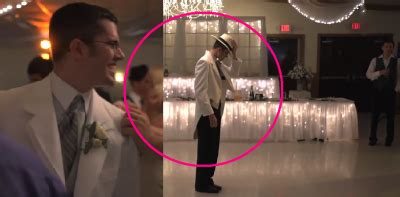 groom leaves his bride stunned with a surprise michael wedding guests left stunned when bride and groom entertain