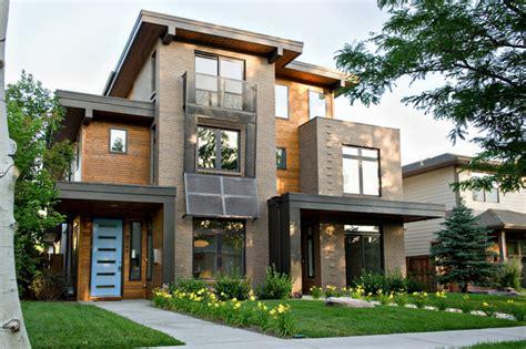 home design exteriors denver pearl street duplex residence contemporary exterior