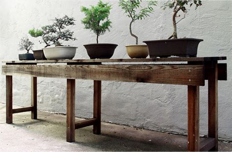 Wooden Table L Diy Planting Table From Scout Regalia Gardenista