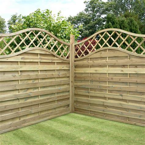 Wooden Garden Fence 5 11 x 5 11 waltons prague wooden garden fencing panels