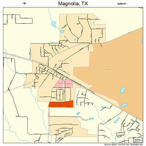 magnolia texas map magnolia texas map 4846056