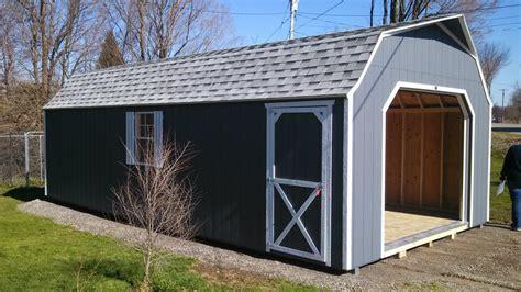 large backyard sheds  sale built delivered north
