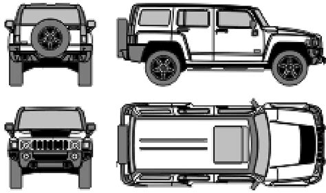 humvee side view humvee side view clipart