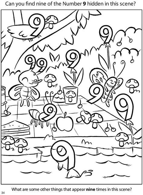Find Number Zoek De 9 K3 Letter Cijfer Kleuren Dierenwinkeltje Dovers