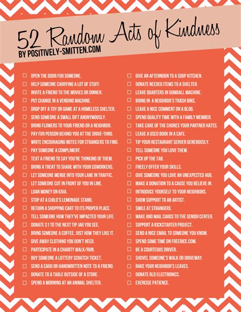 practical kindness 52 ways to bring more compassion courage and kindness into your world books 52 ideas for random acts of kindness positively smitten