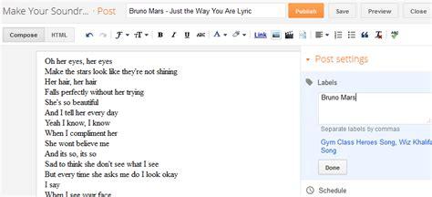 membuat blog lirik lagu cara menulis artikel di blog abyfarhan com af sahabat