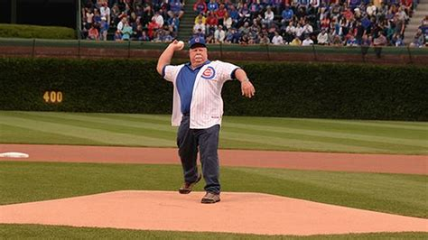 craig stadler golf swing craig stadler throws first pitch at chicago cubs game