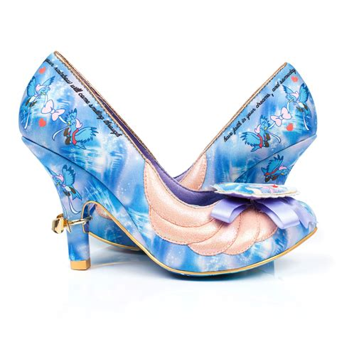 disney high heel shoes womens irregular choice faith in dreams cinderella disney