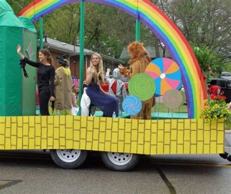 themes for a carnival float wizard of oz homecoming google search homecoming 2015