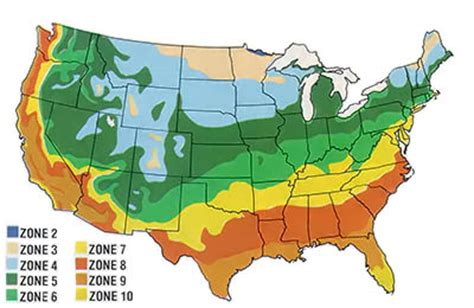 Landscape Zones Usa Usda Climate Zones And Other Gardening Tips Organic