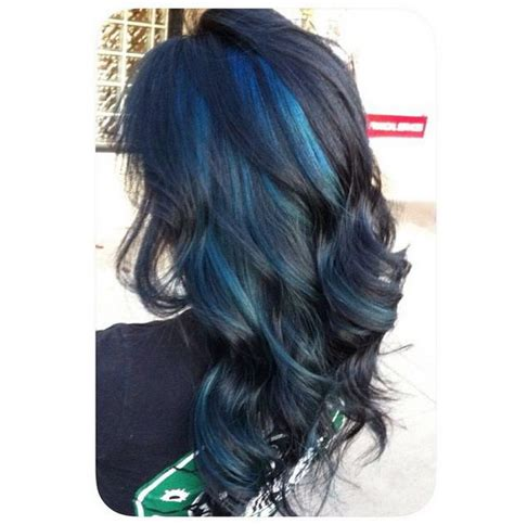 hairstyles peekaboo highlights 50 stylish highlighted hairstyles for black hair blue