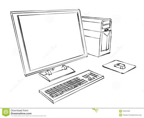 sketchbook computer royalty free stock photos computer sketch image 12201338