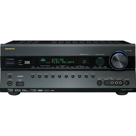 Home Theater Receiver onkyo tx sr707 7 2 channel home theater receiver tx sr707 b h