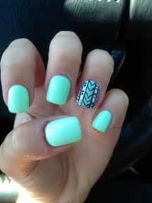 mint color nails mint nails