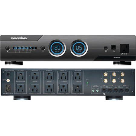 panamax  pm  outlet max  pm home theater power