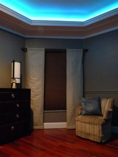 crown molding with led up lighting decorating ideas