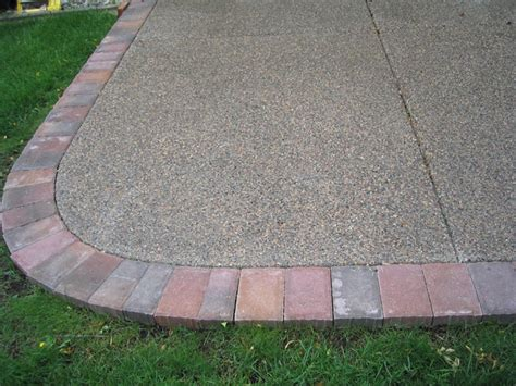 Exposed Aggregate Patio Stones by Exposed Aggregate Crosstown Concrete Brick Paving Inc