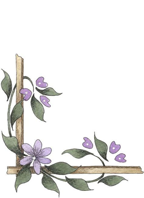 imagenes para decorar hojas blancas bordes decorativos bordes decorativos de flores para imprimir