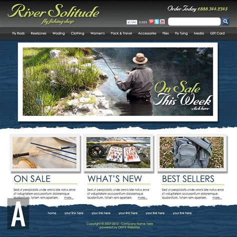Fishing Templates by Fishing Website Templates