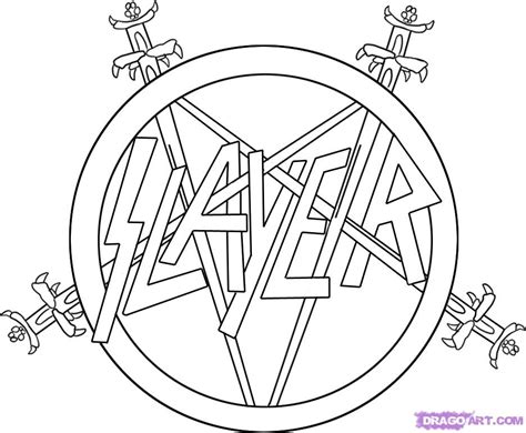 metallica comic colouring pages