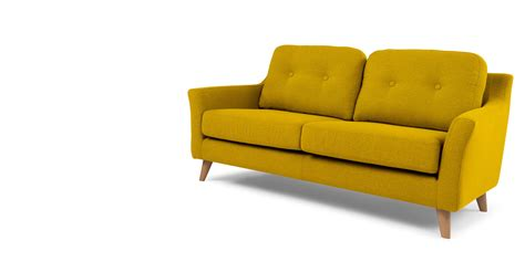 mustard sofa rufus 2 seater sofa mustard yellow made com