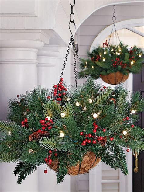 ready made cristmas decorations best 25 fall hanging baskets ideas on winter hanging baskets hanging