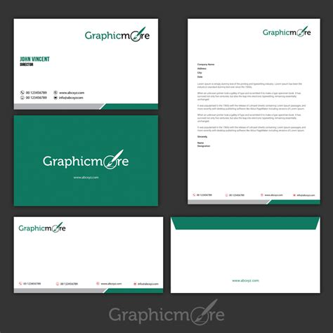 corporate identity template psd download free printable