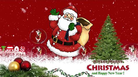 merry christmas wishes happy  year  greeting whatsapp video youtube