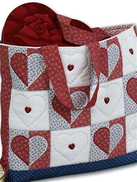 How To Make A Quilt Tote Bag by Free Quilting Patterns For Totes Bags Purses Tote Bag Quilting Pattern Free Quilted