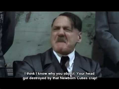 hitler reacts to g1 mlp youtube