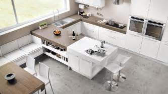 Kitchen Peninsula by Cucine Angolari Moderne A Padova