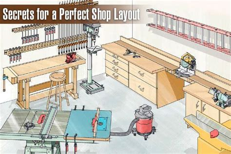 Cabinet Shop Layout by 1000 Ideas About Woodworking Shop On Table