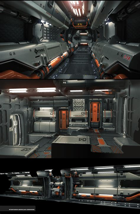 Sci Fi Interior by 1000 Images About Sf Corridor On Sci Fi