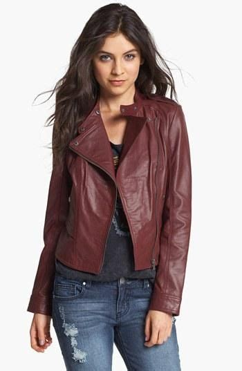Indulge In This Autumns Must The Leather Jacket At Miss Selfridge Dorothy Perkins by Must Oxblood Leather Jacket This Fall Fall Fashion