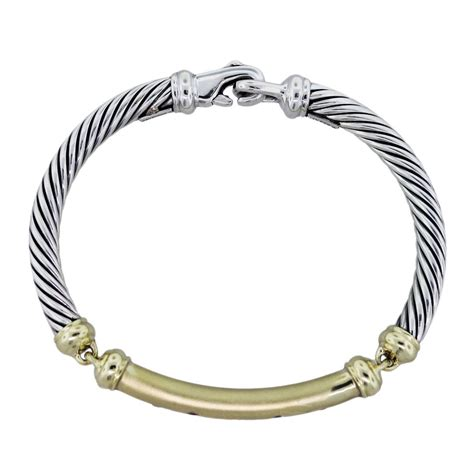 david yurman sterling silver 14k yellow gold and