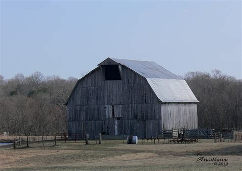gambrel roof barn barn with gambrel roof photograph by ericamaxine price