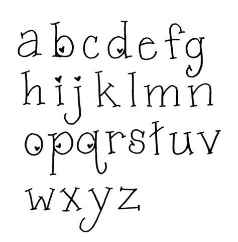 Letter Writing Sle Lettering Font One Artsy