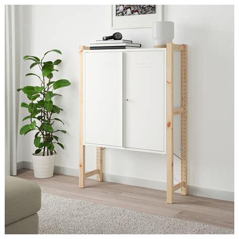 ivar cabinet with doors white 80x83 cm ikea ivar cabinet with doors pine white 89x30x124 cm ikea
