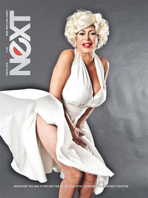 how old is chrissy monroe in magazine big ange is marilyn monroe for next magazine
