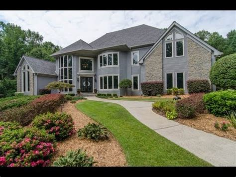 million dollar 80 s style modern golf course home in