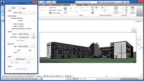 revit walkthrough tutorial video advanced revit architecture 2014 tutorial exterior and