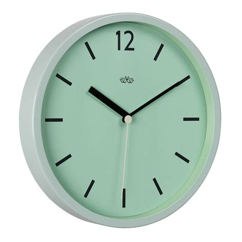 modern wall clock by the best room notonthehighstreet com