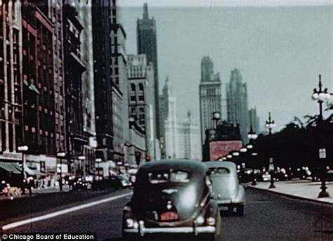 in color chicago lost footage of chicago from 1940s surfaces at yard
