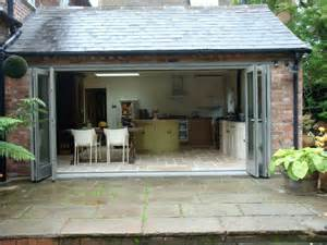 Folding Kitchen Island bi fold doors lapworth traditional conservatories ltd